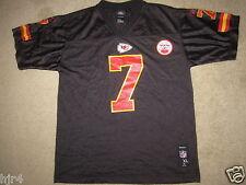 Kansas City Chiefs #7 Black Reebok NFL Jersey Youth XL 18-20