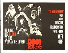 "1964 The Blood Drinkers 1/2 Sheet (22"" x 28"") Original Movie Poster"