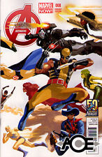 AVENGERS #8 - Marvel Now! - 50th Anniversary VARIANT COVER