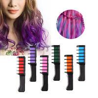 6pcs Temporary Hair Chalk Hair Color Comb Dye Salon Kits Party Fans Cosplay Set
