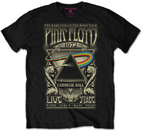Pink Floyd 'Carnegie Hall Poster' (Packaged) T-Shirt - NEW & OFFICIAL!