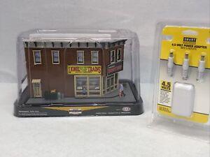 Menards Gold Line Limited Edition Lionel Hobby Shop with Plug NEW O Gauge