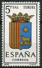 España 1965 SG#1703 brazos de Teruel estampillada sin montar o nunca montada #D4931