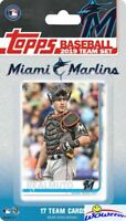 Miami Marlins 2019 Topps Limited Edition 17 Card Team Set -J.T. Realmuto ++
