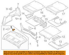 MAZDA OEM 14-17 6 INTERIOR-REAR BODY-Package Tray Trim Inner Cover GJL1683R1A02