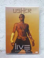 Usher Evolution 8701 MUSIC DVD - Concert Tour 1.5 Hours - ALL REGION