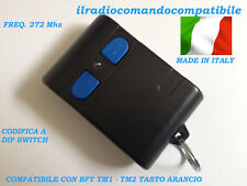 RADIOCOMANDO COMPATIBILE BFT TM1 (T. ARANCIO) COD. A DIP SWITC COME L'ORIGINALE