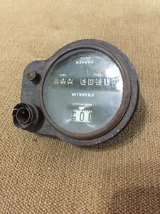 Rare 1920's Franklin Stewart Warner Automobile Speedometer