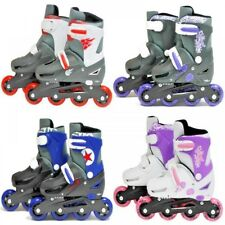 Inline Roller Skates SK8 Zone XQ Max Padded Roller Blades Adjustable Sizes Uk9-6