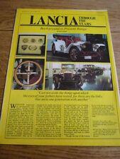 AUTOCAR 16-11-74 LANCIA CAR HISTORY,INCLUDING SPORTING,ROAD TESTS 'CAR BROCHURE'