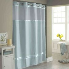 Hookless® Escape 71-Inch x 74-Inch Shower Curtain and Liner Set in Slate Blue
