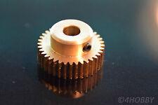 Zahnrad 9 Zähne Modul M0.2 0,8mm Bohrung Messing Z908