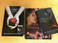 Stephenie Meyer-Twilight Tenth Anniversary Joblot 3 Books All First Editions