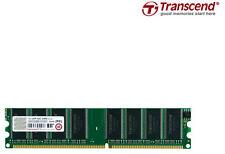 1GB MEMORIA / RAM DDR1 400Mhz PC3200 184Pin < TRANSCEND >NO ECC PC FISSO/DESKTOP