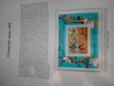 Aus Abo Olympische Spiele 1984 1 Luxus - Block xx LIBERIA lauf sprint leichtathl