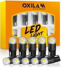 OXILAM 194 LED Bulbs 6000K White 168 2825 W5W T10 Interior Car Door Light CN
