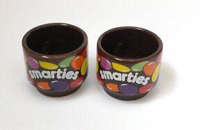 Hornsea Rowntree's Smarties Egg Cups x 2