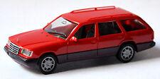 Mercedes Benz Clase E E320 Touring S124 Mopf 2 Facelift 1993-96 Rojo 1:87 Herpa