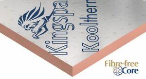 Seconds Insulation Board  KINGSPAN KOOLTHERM K107 K112 Type Foil Foil