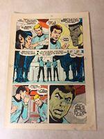 Star Trek original color guide ART 1975 Passage to Moauv SPOCK, DR MCCOY meow !