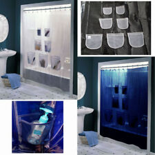 Unbranded Clear Shower Curtains
