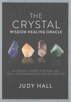 Crystal Wisdom Healing Oracle by Judy Hall 9781780289403 | Brand New