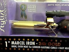 """Hot Tools Professional 1"""" Gold Marcel Hair Curling Iron #1108 (LU)"""