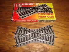 Fleischmann Crossing HO Gauge Model Railway Tracks