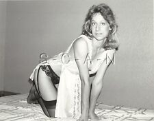 Org Vintage 60s-80s Amateur Semi Nude RP- Woman- Garter- Lingerie- On All Fours