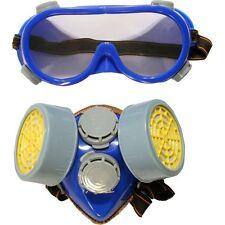 Goggle / Máscara Gafas de seguridad y Respirador Set