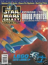 Topps Star Wars Galaxy Collector Magazine #5 Episode 1 Toys Legos Price Guide