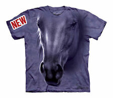 The Mountain Horse Head Stallion Riding Equestrian Youth / Child T Shirt S