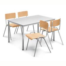 10 Stapelstühle Retro Stuhl Konferenzstühle Kantinenstühle Set Bauhausstuhl NEU