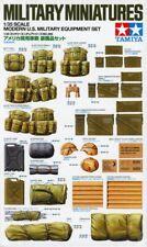Tamiya 1:35 Modern US Military Equipment Set Plastic Accessory MM266 #35266