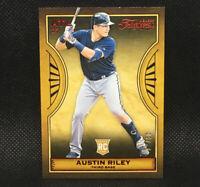 #/50! 🚨 2019 Austin Riley RC Panini Chronicles Timeless Treasured Rookie #17