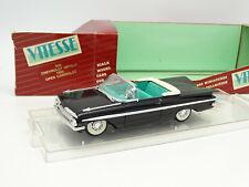 Vitesse 1/43 -  Chevrolet Impala Cabriolet 1960 Noire