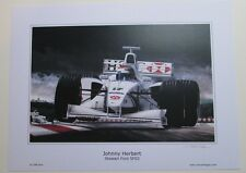 POSTER ARTWORK PRINT / DESSINS F1 STEWART SF3 HERBERT 30 x 40 cm by CLOVIS