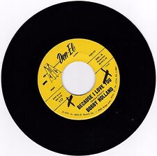 NORTHERN SOUL 45RPM - BOBBY HOLLAND ON DON EL - RARE!