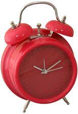 Colores Brillantes Reloj Alarma-Rojo