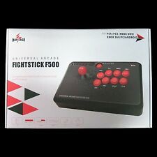New MAYFLASH DELUXE ARCADE Fight Fighting STICK F500 PS4 PS3 XBOX ONE 360 PC Mac