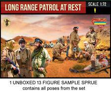 Strelets M143 WWII Long Range Desert Group at Rest 1/72 Kit - 1 Sprue 13 Figures