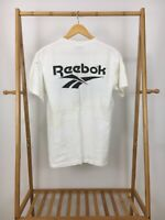 VTG Reebok Muggsy Bogues Dell Curry Signed Basketball Camp T-Shirt Size M USA