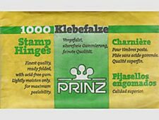 Prinz Prefolded Stamp Hinges - 1 Pack of 1000 each