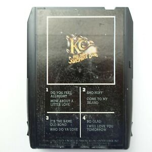 KC and The Sunshine Band Who Do Ya Love (8-Track Tape)