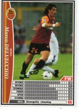 figurina CARD WCCF EUROPEAN CLUB 2002//03 PANINI NEW 254 ROMA DELVECCHIO