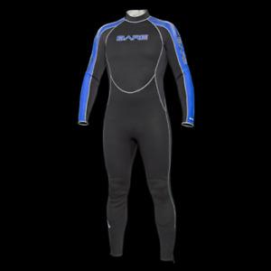 Brand New Bare Velocity Mens 7mm Full wetsuit