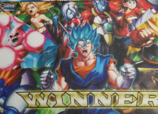 Dragon Ball Super Winner Mat Playmat Goku Sealed Set 3 Crossworlds New