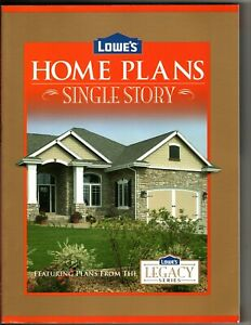 Lowe's Home Plans - Single Story Featuring Plans From The Legacy Series