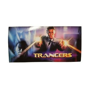 Charles Band Full Moon Features Direct Movie Promo Sticker Rare Trancers