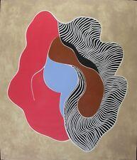 """Barbara Kwasniewska original signed etching 45/75 """"Cheval de Ténèbres"""" 29x34"""""""
